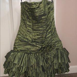 Jessica McClintock Strapless Dress
